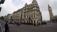 Parliament St London UK 4K Stock Footage