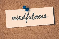 mindfulness - stock photo