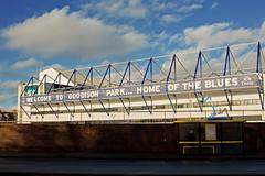 Stock Photo of LIVERPOOL UK JANUARY 8TH 2016. Goodison Park Stadium, home of Everton Footbal