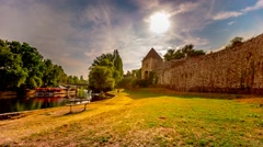 Banjaluka Fortress by day in 4K Stock Footage