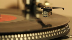 Record player 3 Stock Footage