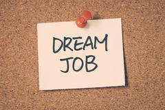 Dream job Stock Photos