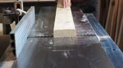 Work In The Carpentry Shop 1 - stock footage