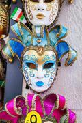 Masquerade Venetian masks  on sale in Venice, Italy - stock photo