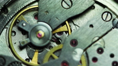 Mechanism wristwatches 4 Stock Footage