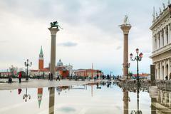 San Marco square in Venice, Italy - stock photo