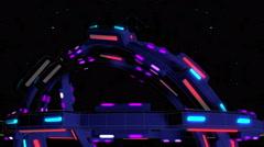Cosmic Gate 4K Vj Loop 02 Stock Footage