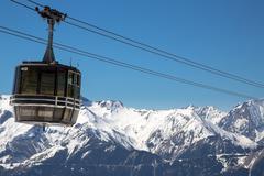 Alps in winter Stock Photos