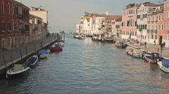Beautiful view of Venice, Italy Stock Footage