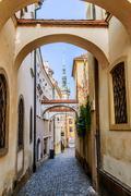 Town hall, Olomouc, Moravia - stock photo