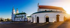 Holy Spirit Cathedral in Minsk - stock photo