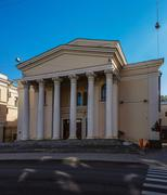 National Academic Drama Theater named after Gorky - stock photo