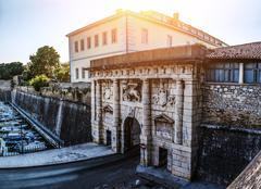 monumental Land Gate , Zadar, Croatia - stock photo