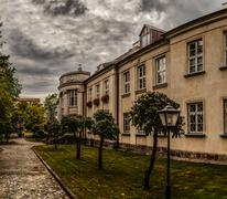 Bishops Palace in Lomza, Poland Stock Photos