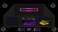 Military  Surveillance - Digital - pink 001 - stock footage