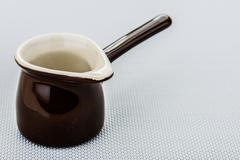 Ceramic turk for coffee - stock photo