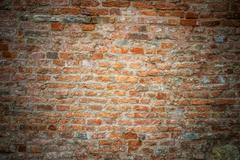 Yellow brickwork Stock Photos