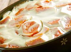 Creamy Carrot Casserole Stock Photos