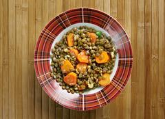 Eritrean Lentil Stew Stock Photos