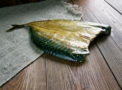 Estonian smoked fish - stock photo