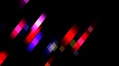Glistening Geometric Color Loop - stock footage