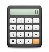 Calculator - stock illustration