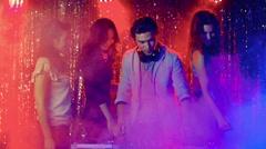 DJ Music Stock Footage