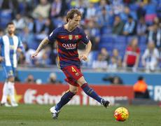 Ivan Rakitic of FC Barcelona Stock Photos
