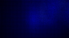 LED screen with stars.  LED display Stock Footage