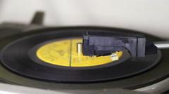 Rotating Vinyl Stock Footage