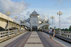 PHUKET, THAILAND - AUGUST 05, 2013: Bridge between Phuket and Pang Nga - stock photo