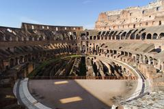 ROME, ITALY - JANUARY 21, 2010: Colosseum - stock photo