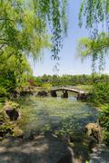 PAJU, KOREA - MAY 16, 2011: Landscape of Byeokchoji Botanical Garden Stock Photos