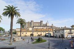 ROME, ITALY - JANUARY 20, 2010: Castello Orsini-Odescalchi Stock Photos