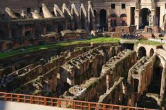 ROME, ITALY - JANUARY 21, 2010: Colosseum Stock Photos