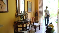 Interior of South House Stock Footage