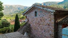 Balearic islands Mediterranean architecture of Mallorca, Finca - stock photo