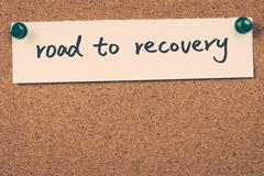 Stock Photo of road to recovery