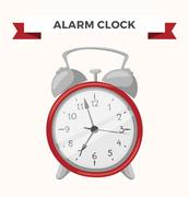 Clock watch alarm vector icon illustration Stock Illustration