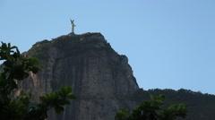 Corcovado and Christ The Redeemer, Rio de Janeiro - 1080p Stock Footage