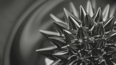Black liquid surface. Abstract background. Stock Footage