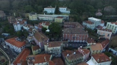 Aerial View of Sintra, Portugal Stock Footage
