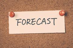 forecast - stock photo