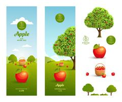Stock Illustration of Apple juice packaging