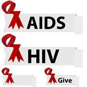 Stock Illustration of AIDS Ribbon