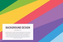 Abstract line triangle background design - stock illustration