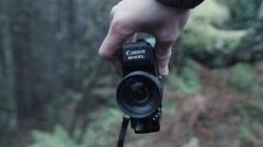 Canon 514xl Super8 Film Camera - stock footage