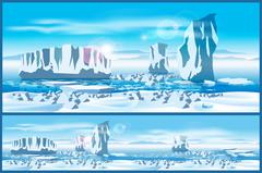 Stock Illustration of Arctic ice