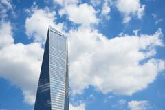 Northeast Asia Trade Tower - stock photo