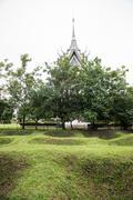 Choeung Ek Mass Graves - stock photo